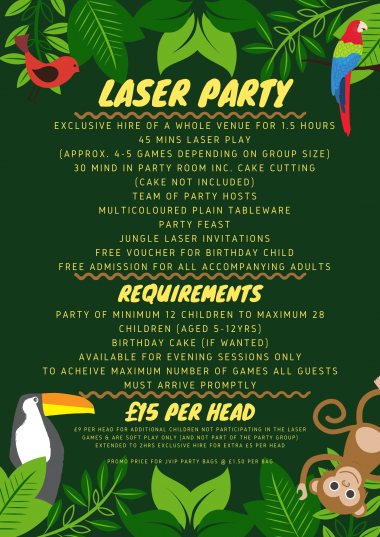 Laser Party List