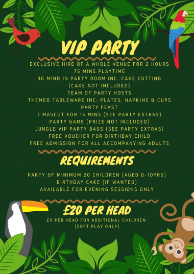 Vip Party List