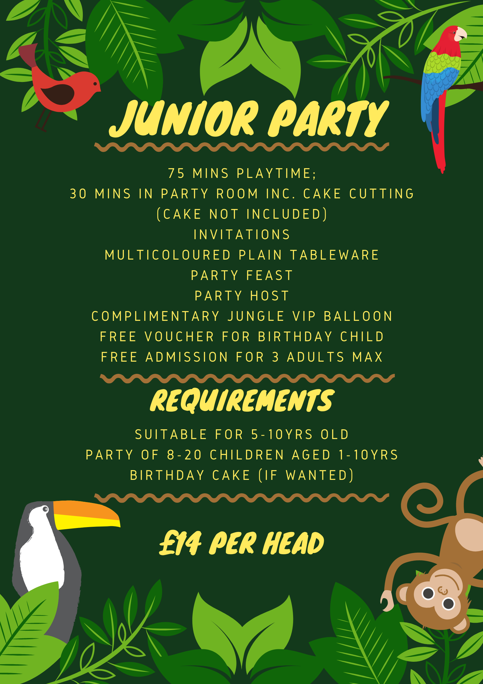 Junior Party List