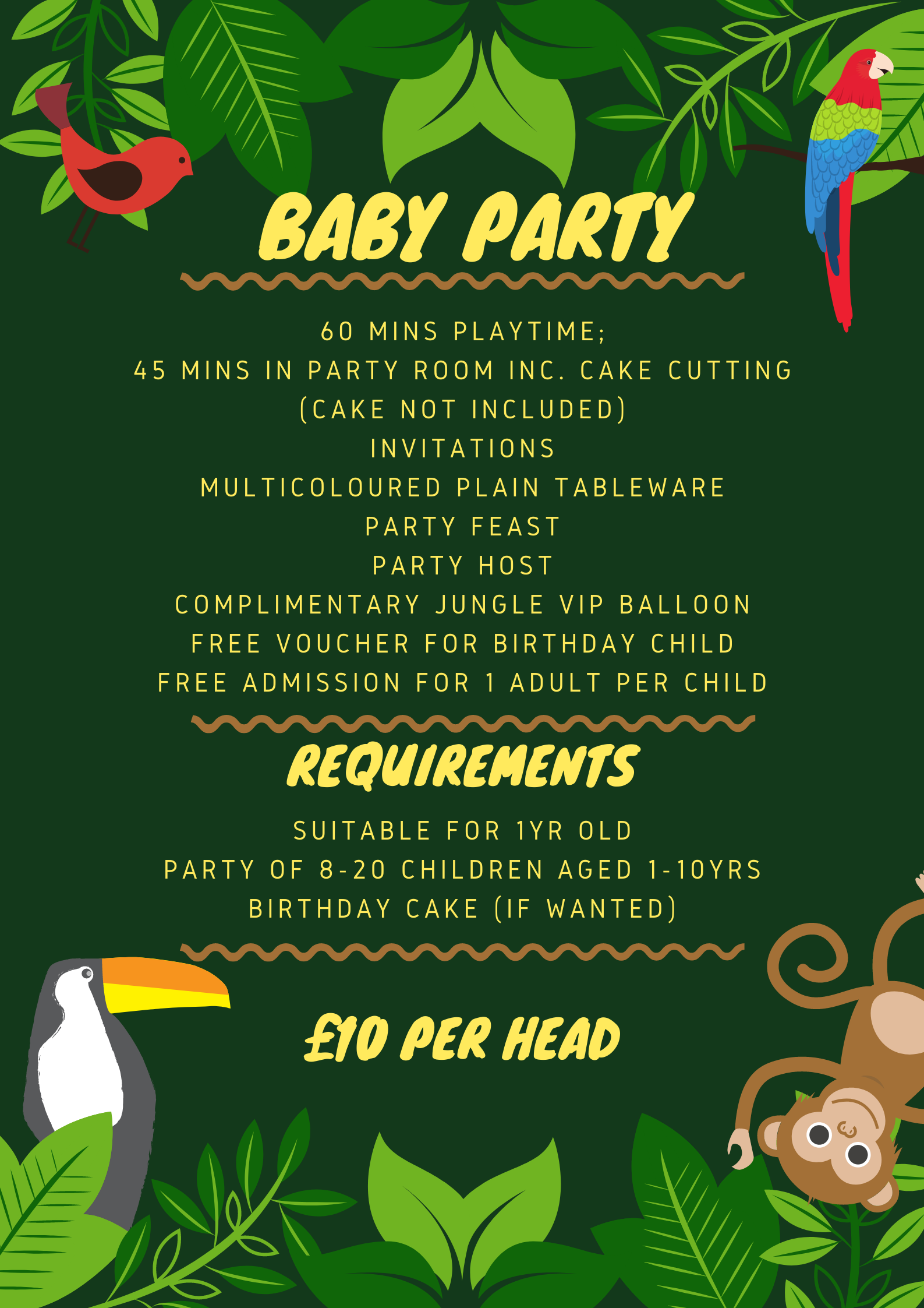 Baby Party List